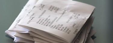 El bisfenol A está presente en los tickets de la compra, pero no hay motivos contrastados para la alarma