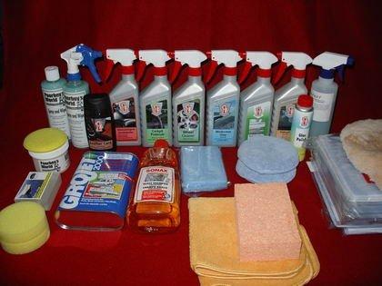 Productos Limpieza coche