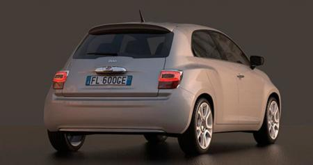 Fiat 600 Design Concept Trasera