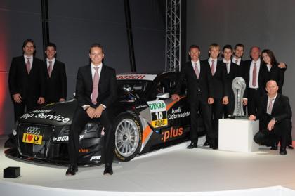 Audi repetirá pilotos en 2009