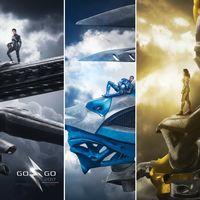 Los zords de los nuevos 'Power Rangers' aparecen en un nuevo y alucinante póster