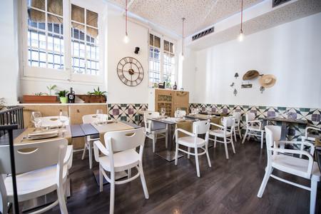 Sala del restaurante Bacira