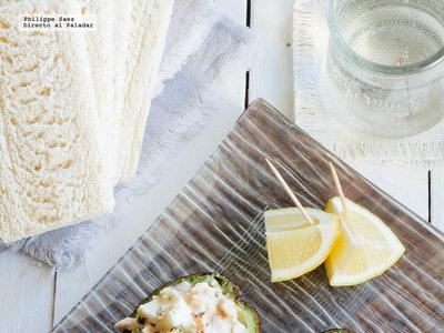 Receta de aguacate relleno con atún