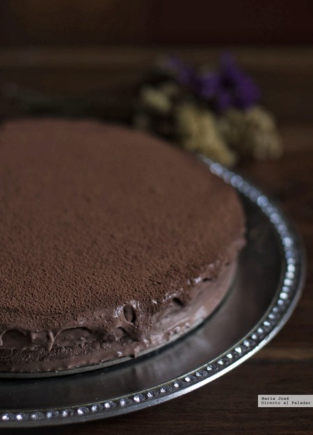 tarta mousse de chocolate y baileys