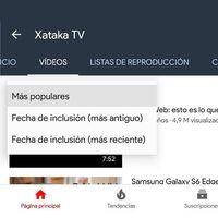 YouTube ya te deja ordenar las listas de reproducción y vídeos de un canal: así se hace