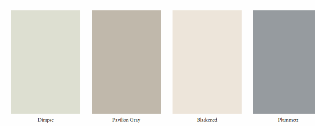 Colores neutros con bases diferentes marcando la decoraci n for Gama grises pintura paredes
