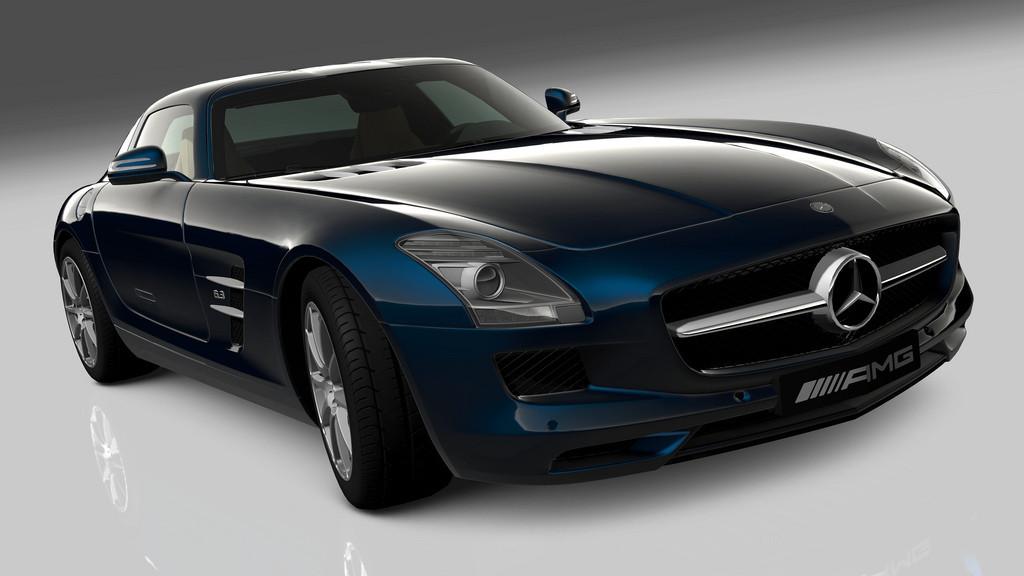 Gran Turismo 5 - SLS AMG