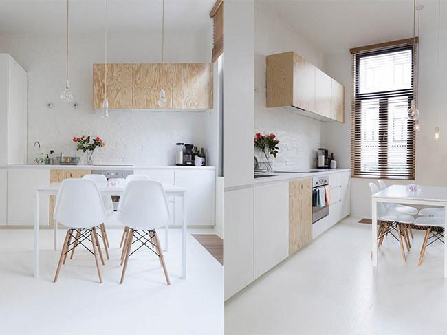 Minimalismo n rdico en tan solo 40 metros cuadrados for Decoracion apartamento 100 metros