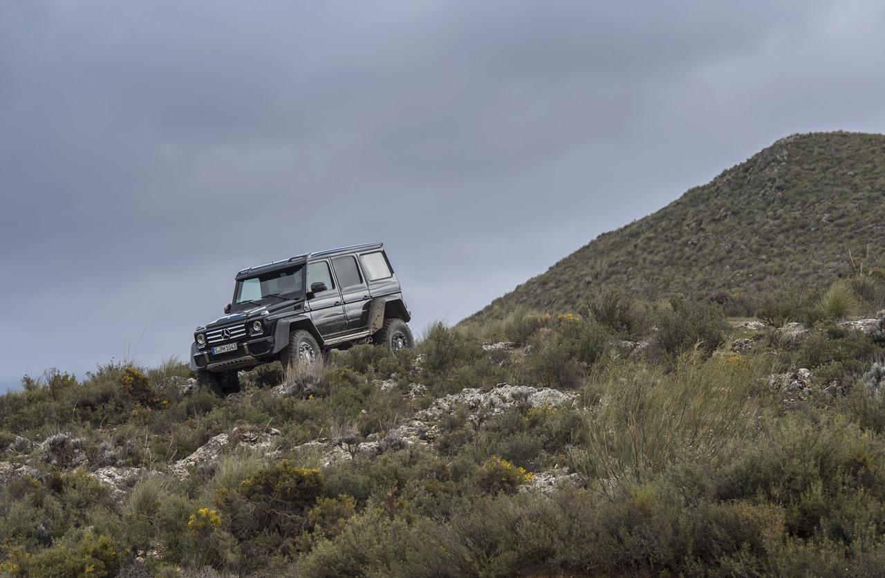 Foto de Mercedes-Benz G 500 4x4², toma de contacto (46/127)