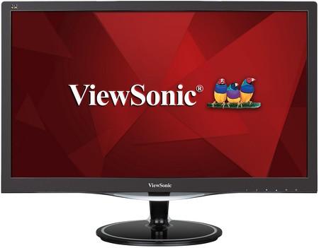 Monitor gaming de 24 pulgadas ViewSonic VX, con resolución FullHD, por 129 euros