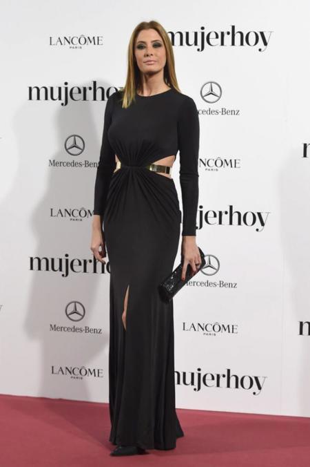 Elizabeth Reyes en los Premios Mujer Hoy 2014