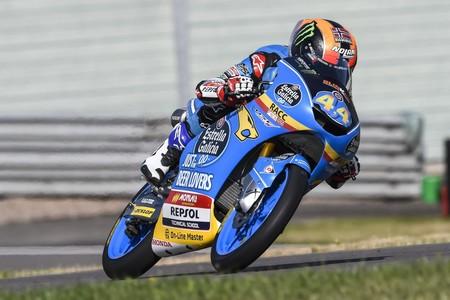 Aron Canet Moto3 Gp Alemania 2018