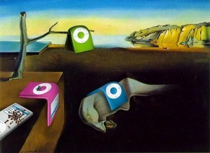 El iPod convertido en arte