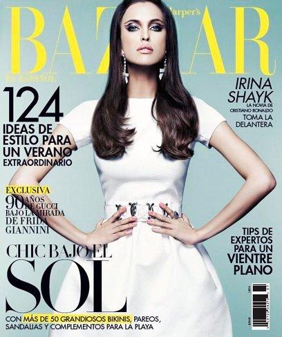 Es imposible que la de la portada de Harper's Bazaar sea Irina Shayk