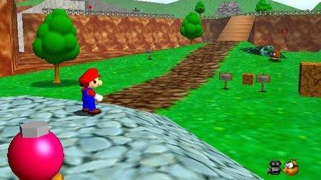 Completando el 'Super Mario 64' con los pies