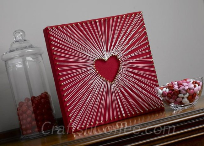 String Art Heart Tutorial
