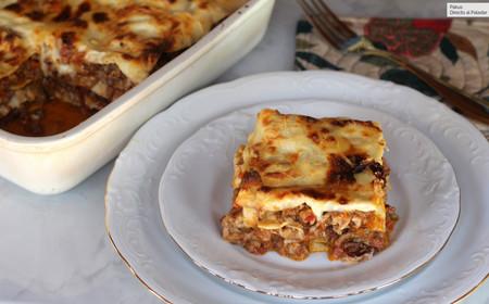 Vincisgrassi: la lasaña que solo puedes probar en la provincia italiana de Las Marcas (o siguiendo nuestra receta)