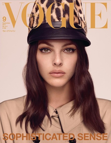 Vittoria Ceretti Vogue Japan September 2017 Cover