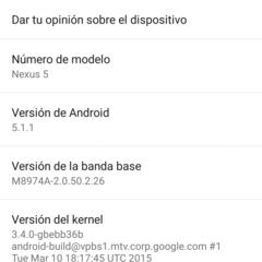 Foto 2 de 43 de la galería benchmarks-nexus-5-android-5-1-1 en Xataka Android