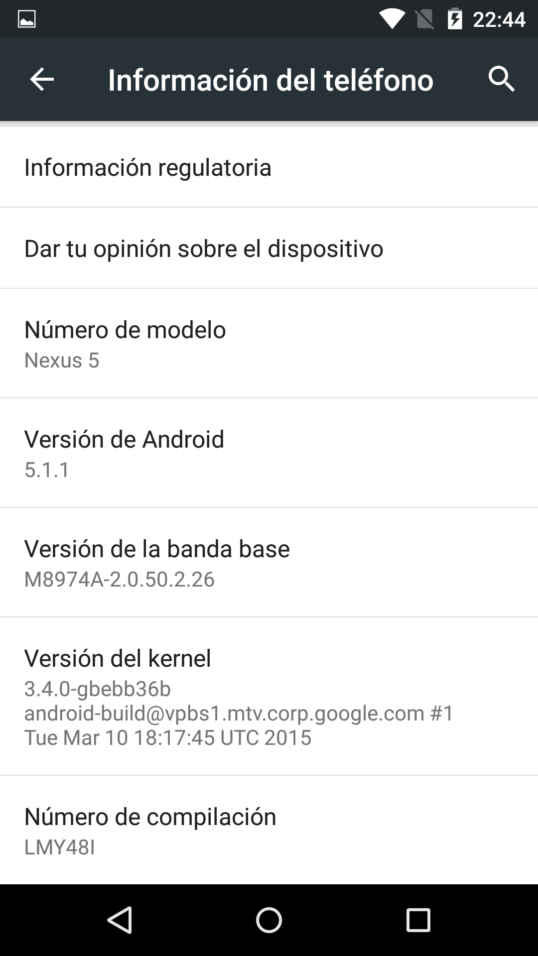 Foto de Benchmarks Nexus 5 Android 5.1.1 (2/43)