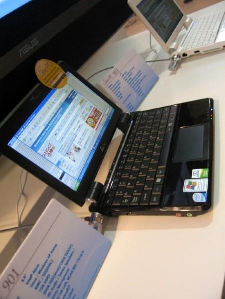 Asus Eee PC901 con procesador Atom y WiMAX