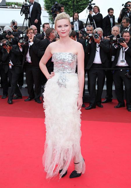 Kirsten Dunst mejor vestidas Festival Cannes
