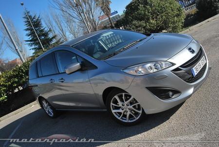 Mazda5, prueba (exterior e interior)