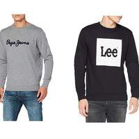 Chollos en tallas sueltas de jerseys y sudaderas de marcas como Pepe Jeans, Lee, Wrangler o Superdry por menos de 20 euros en Amazon