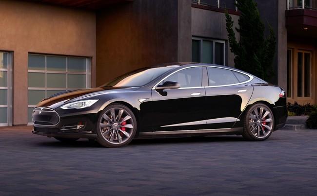 Tesla Model S P85d Negro