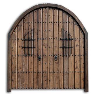 Portones para tu hogar for Porton madera antiguo