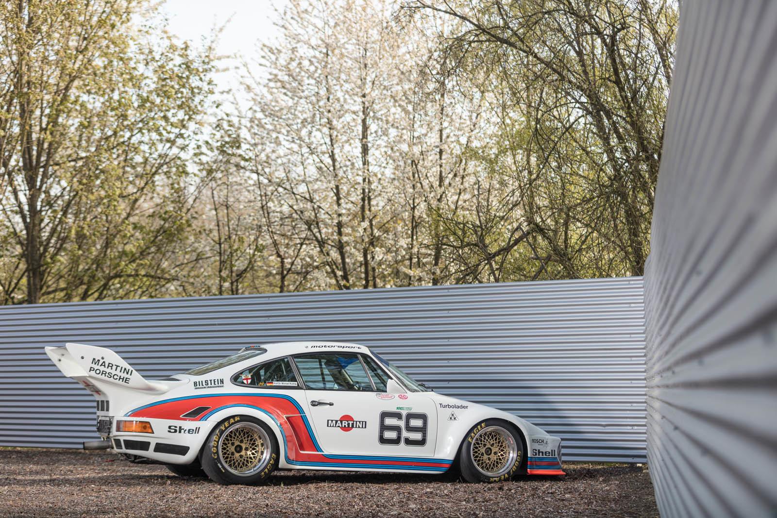 Foto de Porsche 930 clásico a subasta (35/42)