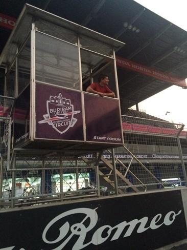 Nacho Calero viajó a Tailandia, pero no el equipo