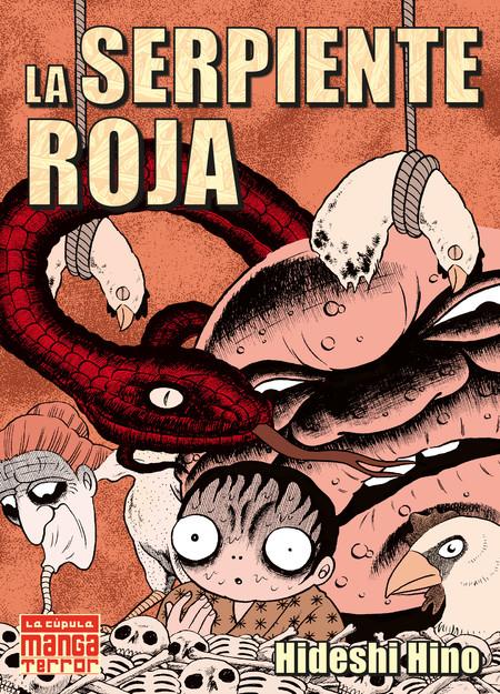 Hideshi Hino La Serpiente Roja Cubierta 1