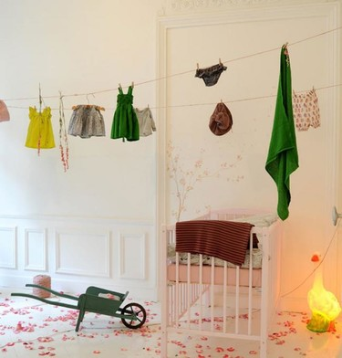 Algunos maravillosos detalles para hacer del dormitorio de tu hijo un lugar especial