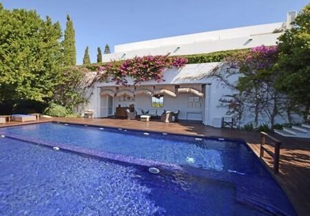 La piscina de Sara Carbonero