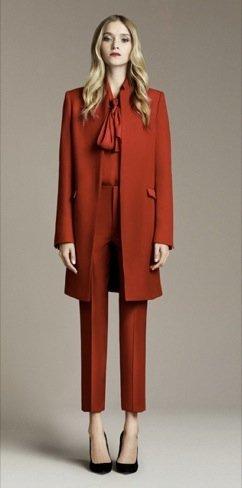 Zara Otoño 2010 rojo