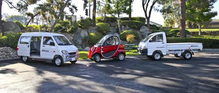 Alvarez Electric Motors Company presenta sus tres modelos eléctricos de precio reducido
