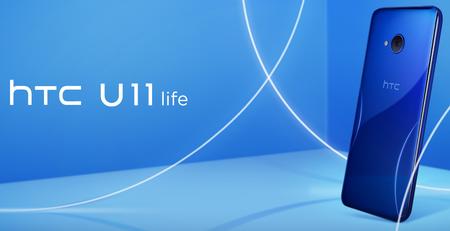 HTC U11 Life llega a México: gama media-alta resistente al agua y con bordes 'apachurrables', este es su precio