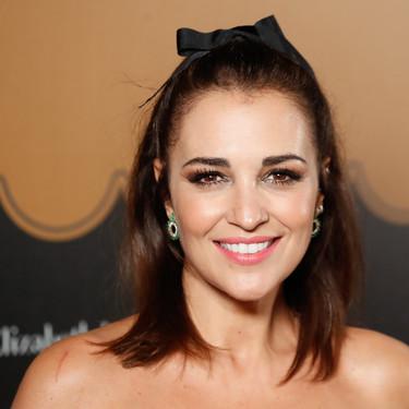 Paula Echevarría capitanea la alfombra roja de las chicas Velvet en la despedida de la serie