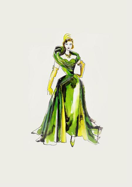 Cinderella Costume Signage Tremaine