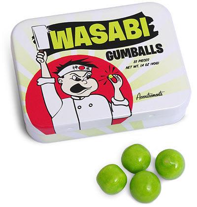 Chicles de wasabi