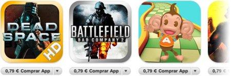 Rebajas de Sega y Electronic Arts en la App Store