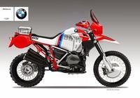 BMW R 1200 GS versión Hubert Auriol y Gaston Rahier