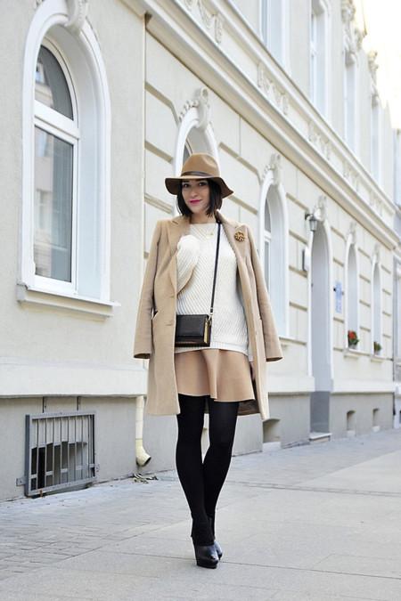 Blanco Camel Street Style