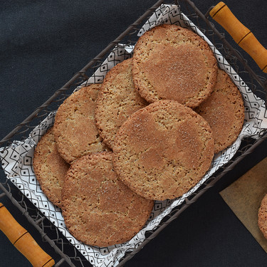 Receta de mostachones de Estepa, un rústico dulce tradicional para aprovechar el salvado de trigo