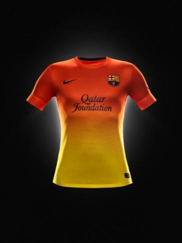 Segunda equipación FC Barcelona 2012-2013