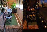 Enséñanos tu casa: la terraza de Raquel y Adrián