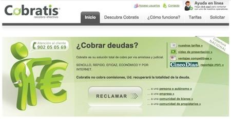 Cobratis, gestión de impagos por internet