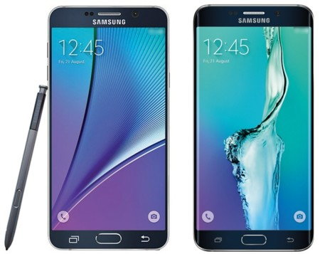 Galaxy S6 Edge Plus Y Note 5