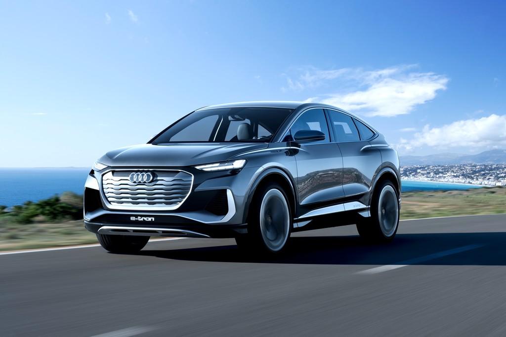 Audi Q4 Sportback e-tron concept es oficial: Audi deja visualizar qué nos podemos abandonarse de su cercano SUV eléctrico para 2021